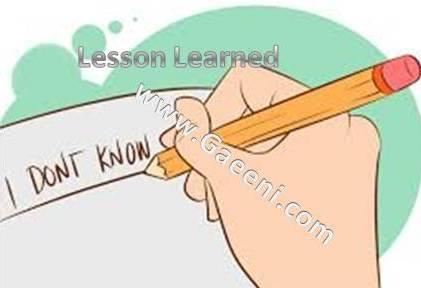 """یک درسآموخته: زمانهایی هم """"نمیدانم""""، بهترین پاسخ است"""